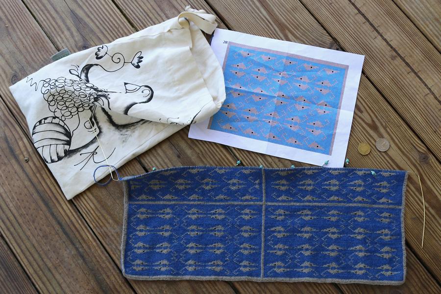 Knit Wall Pattern by Susan Goldstine