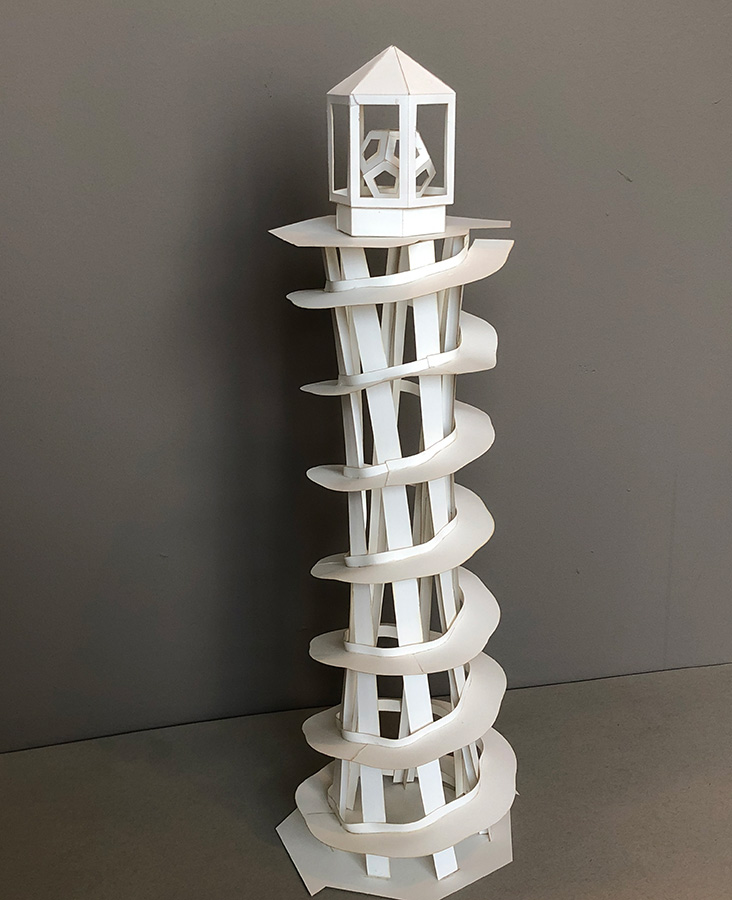 Lighthouse by Sabetta Matsumoto