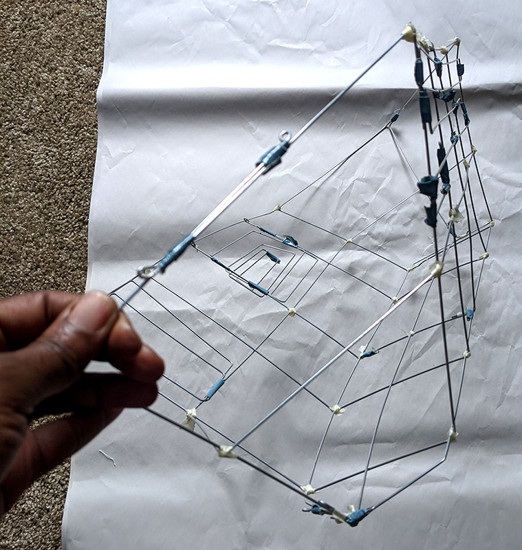 Wire sculpture by Vernelle A. A. Noel