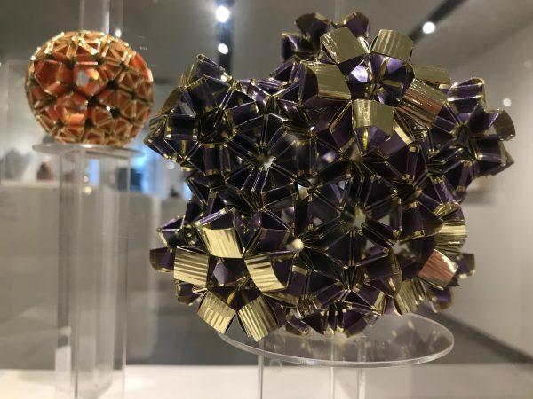 """11 Hole Torus (2019)"" by Faye E. Goldman. (Courtesy of the National Museum of Mathematics)"
