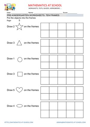 5 Frame Math Printable | Frameviewjdi.org
