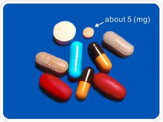 milligram (mg)