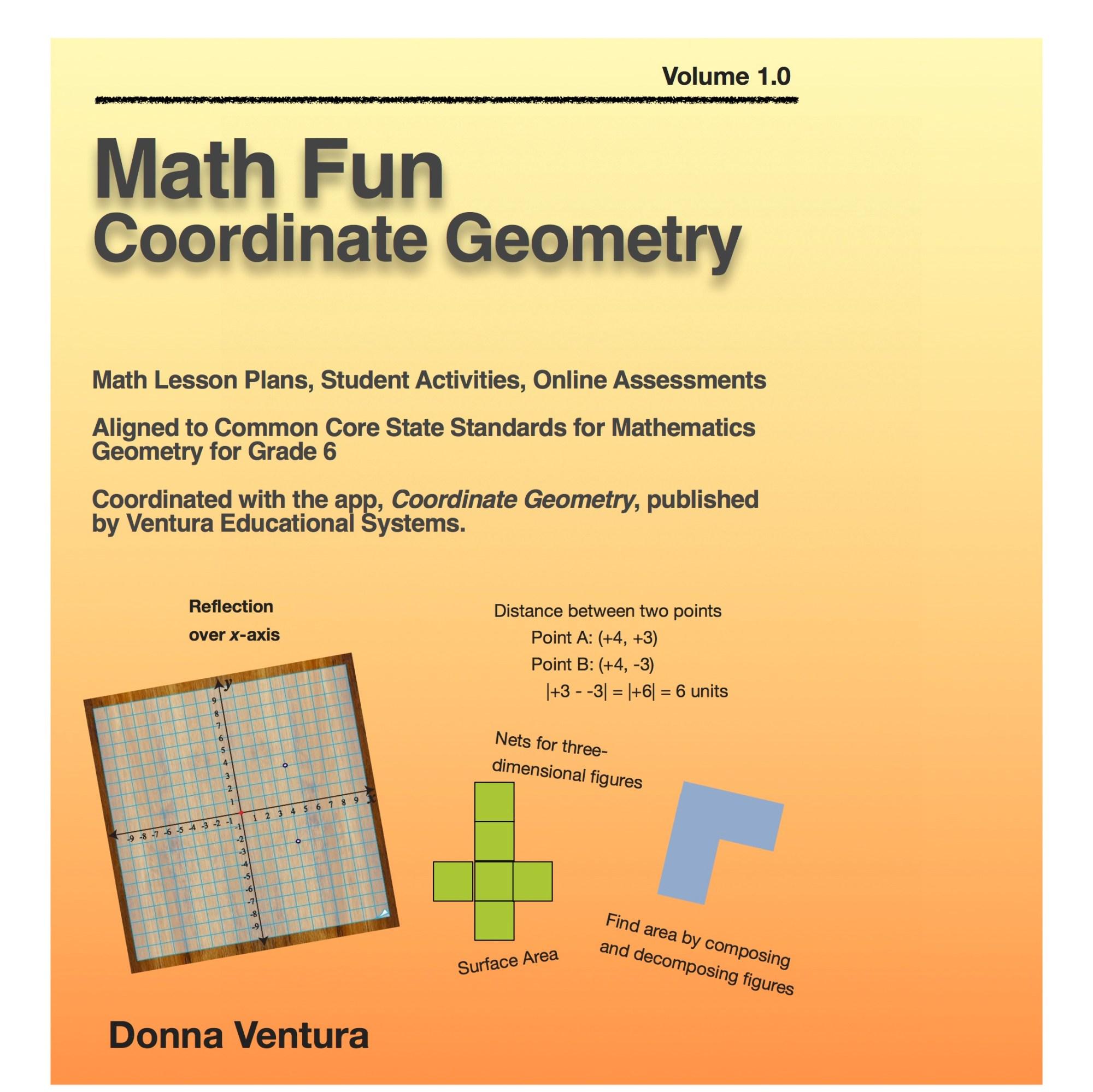 hight resolution of Math Fun Coordinate Geometry: Interactive Books    mathematicsinteractivebooks