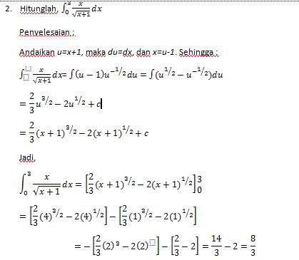 Selain itu dibuktikan juga beberapa sifat yang mendukung pembuktian teorema fundamental kalkulus pada integral henstock. Teorema Dasar Kalkulus Mathematic Study Center