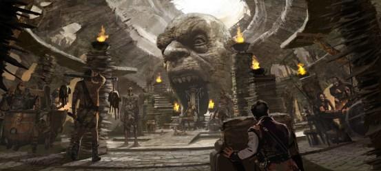 throne room giant jack concept slayer giants environment killer jgk extravagant establish frames key
