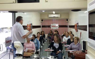 Fotos do Curso de Doces Finos na Carreta Selecta