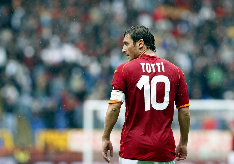 Francesco Totti – Roma – Capitão