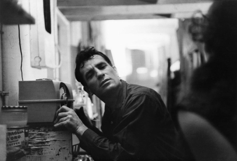 Jack Kerouac em 1959. Foto: John Cohen/Getty Images