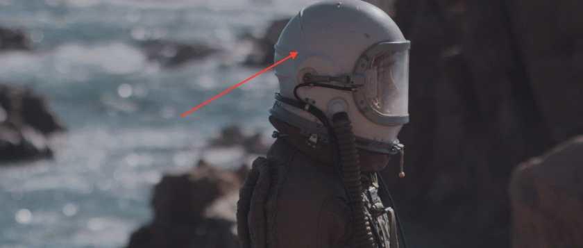 Pixelização nas sombras do capacete provocado por LUTs da VisionColor