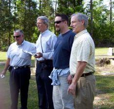 Four David Mathews' at 2007 Mathews family reunion