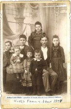 Joshua Louis Hicks family