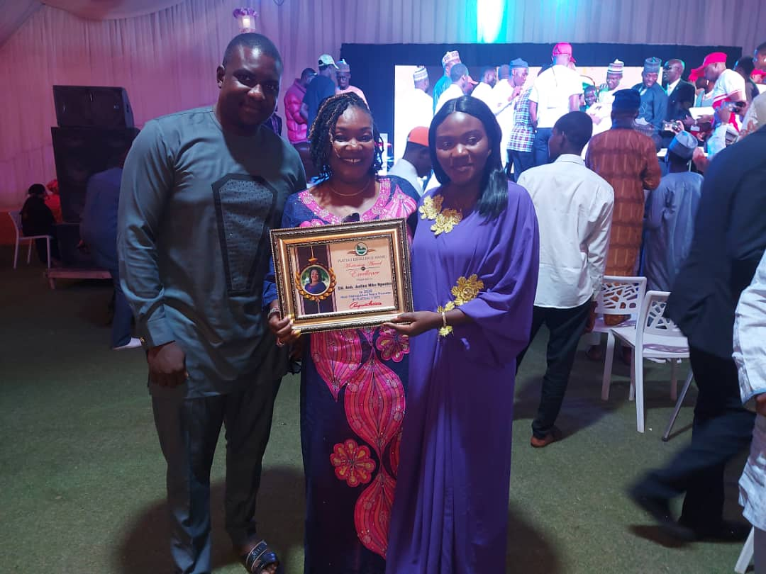 Plateau Excellence Award Bello Lukman's Book launch (4)