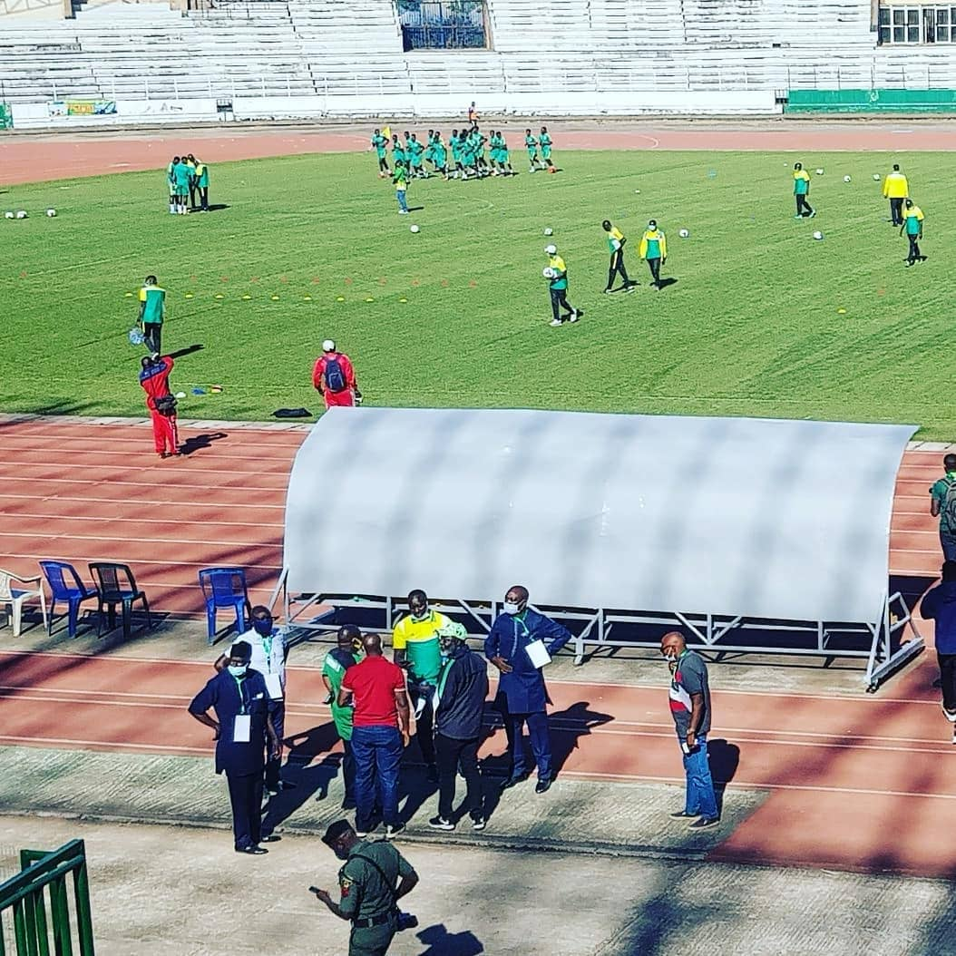Plateau United slip at home against visiting Simba SC of Tanzania in CAF Champions League Prelim (2)