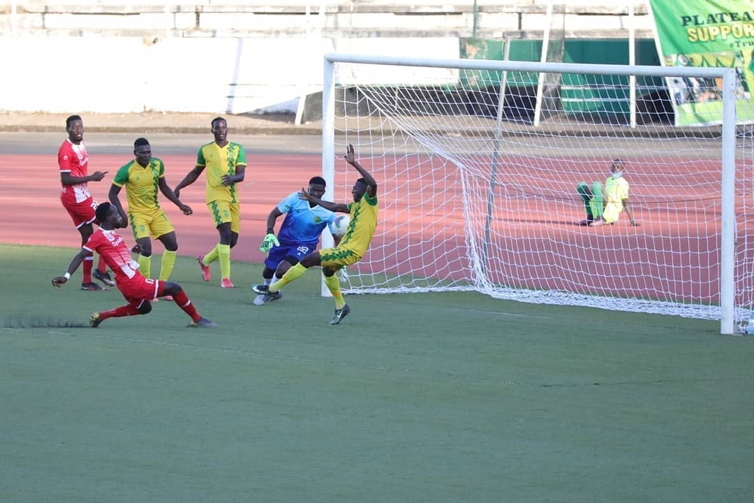 Plateau United slip at home against visiting Simba SC of Tanzania in CAF Champions League Prelim (8)