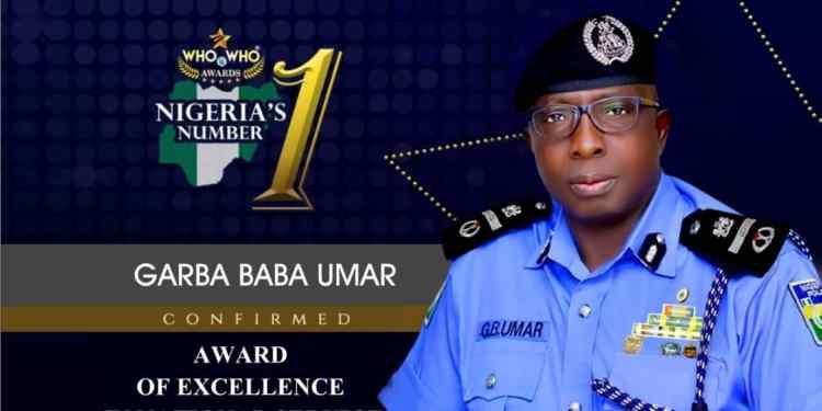 WHO is WHO Awards Nigeria -AIG Garba Baba Umar (1)