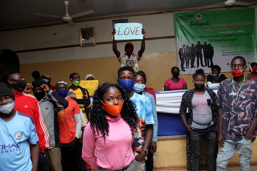 IGSR trains 500 Youth from Plateau Central at the Youth Peace Camp to Prevent Violent Extremism (10)