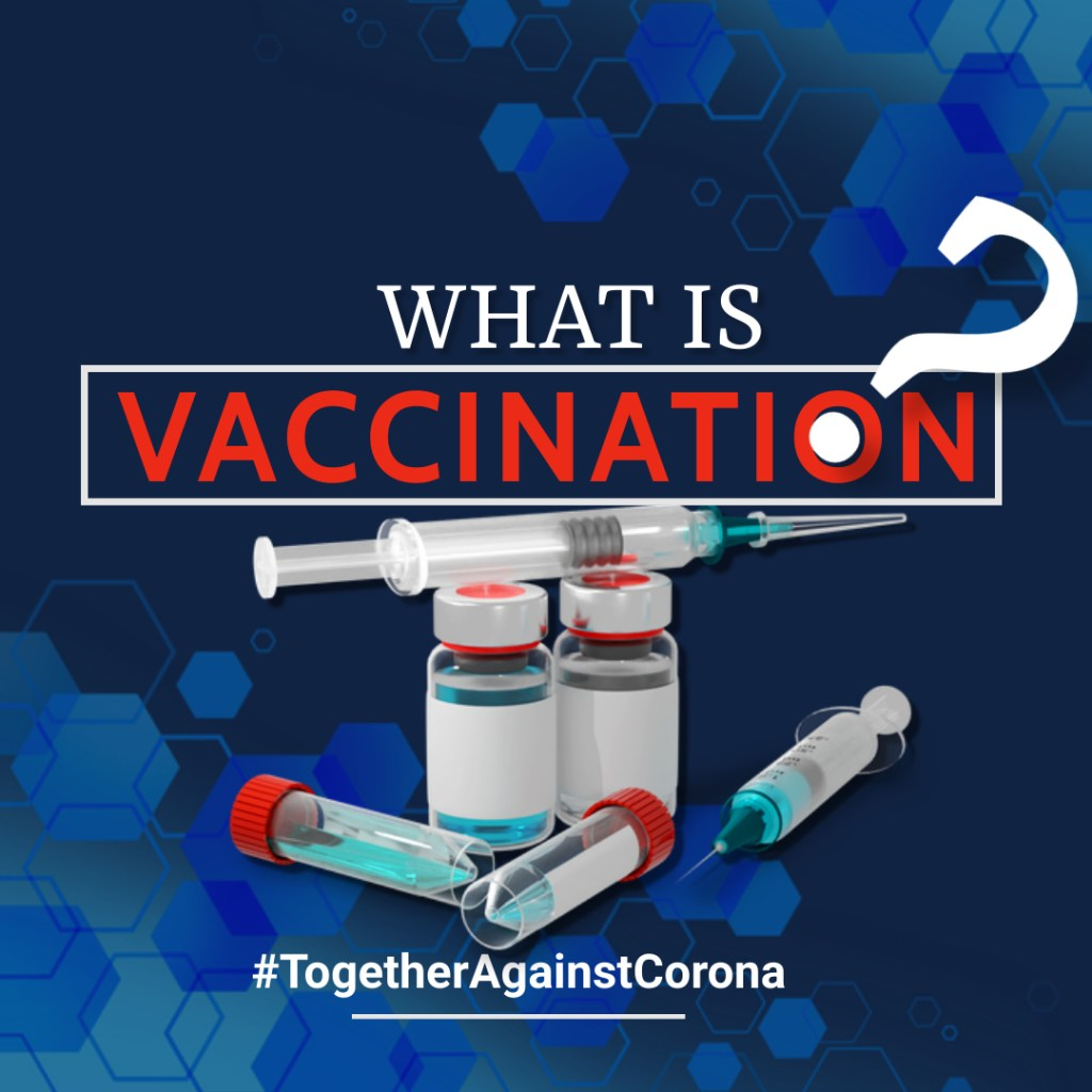What is vaccination, How Important is it and Together Against Corona