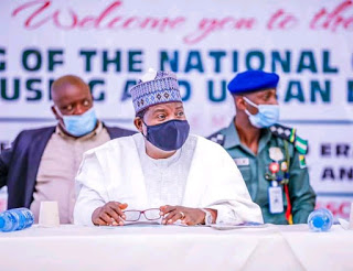 9th meeting of the National Council on Lands ,housing and urban development in Jos