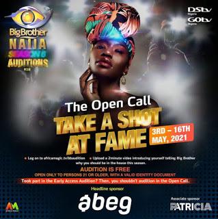 Big Brother Naija Announces Dates For Season 6 Audition