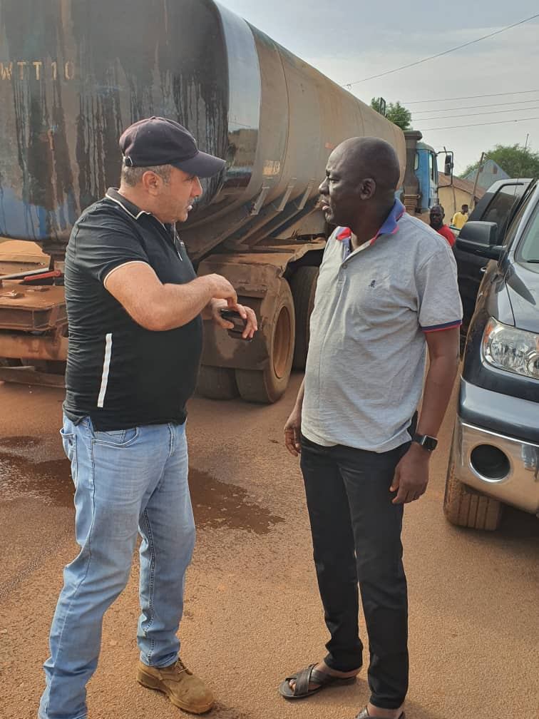 Engage indigenous suppliers artisans labourers Hon Donjur charges contractors 1