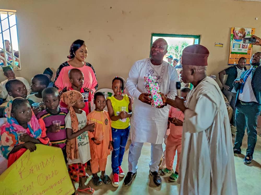 Godwin Okoko gifts 10 Plateau orphan children scholarship in Bassa LGA as he marks birthday 8