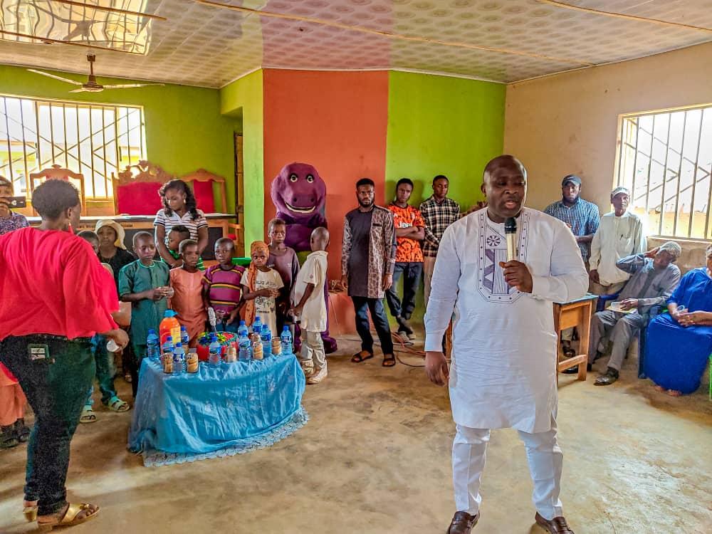 Godwin Okoko gifts 10 Plateau orphan children scholarship in Bassa LGA as he marks birthday