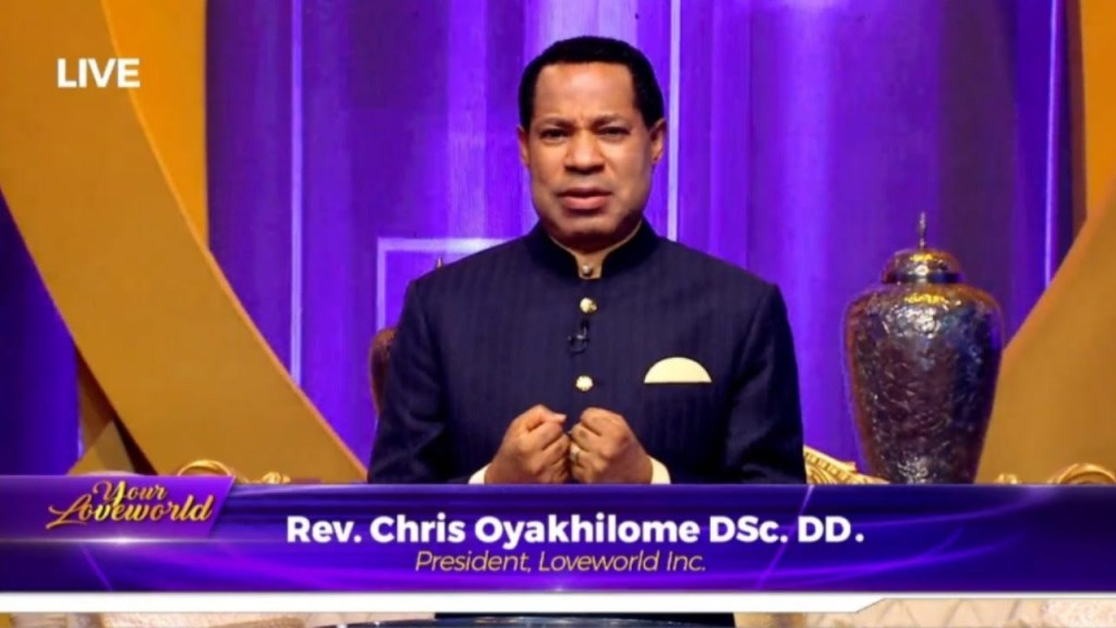 UK fines Pastor Chris Oyakhilome's Loveworld £125,000 for COVID-19 conspiracy theories