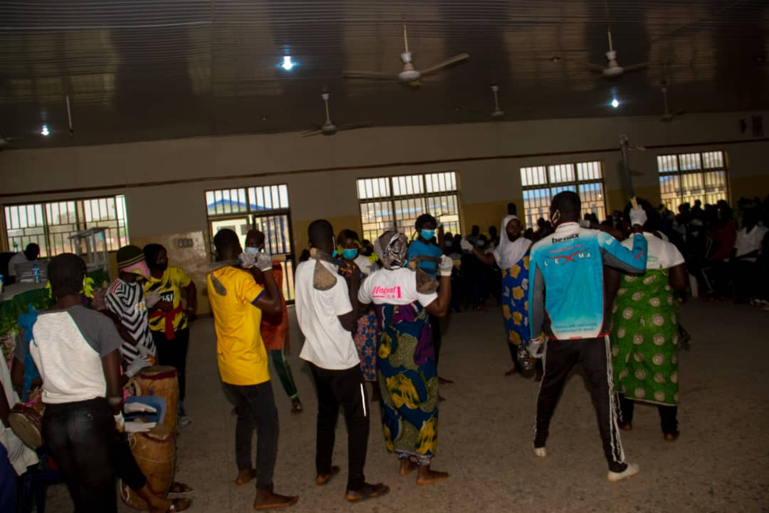 500 Youth from Plateau Central Senatorial Zone Trained by IGSR on Prevention of Violent Extremism 3