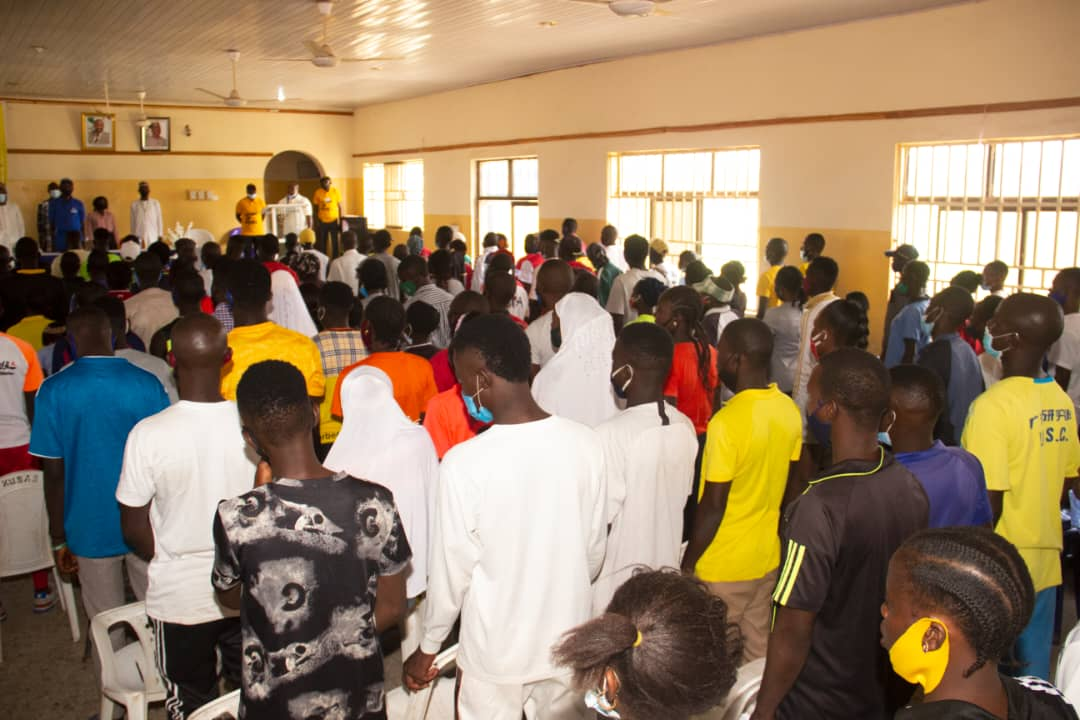 500 Youth from Plateau Central Senatorial Zone Trained by IGSR on Prevention of Violent Extremism 5