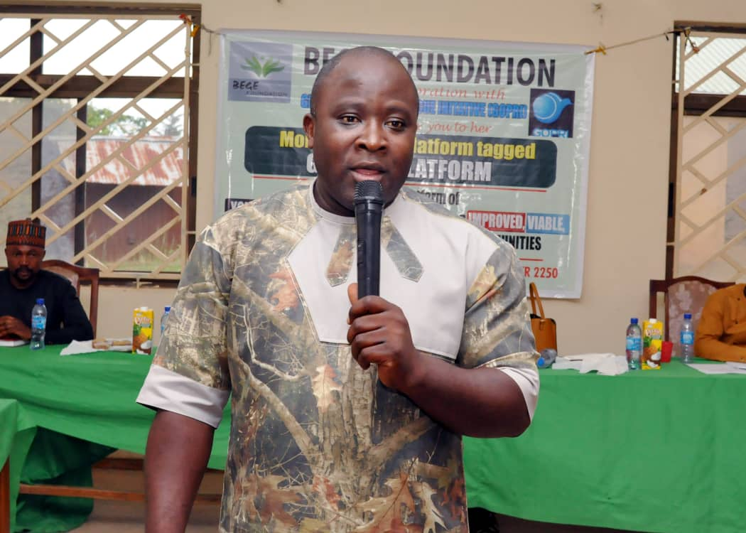 Youths should drive the process for building Peaceful Communities BEGE Foundation