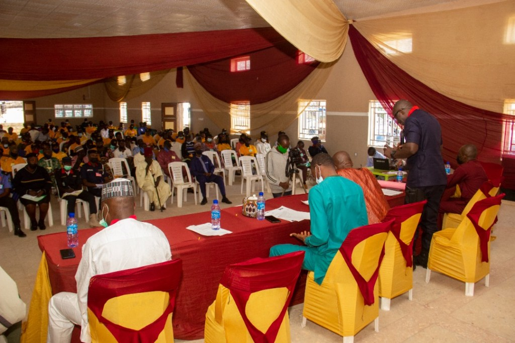 IGSR Organises Early Warning Seminar for 250 Youth Peace Ambassadors and Community Members in Plateau Central Senatorial Zone 3