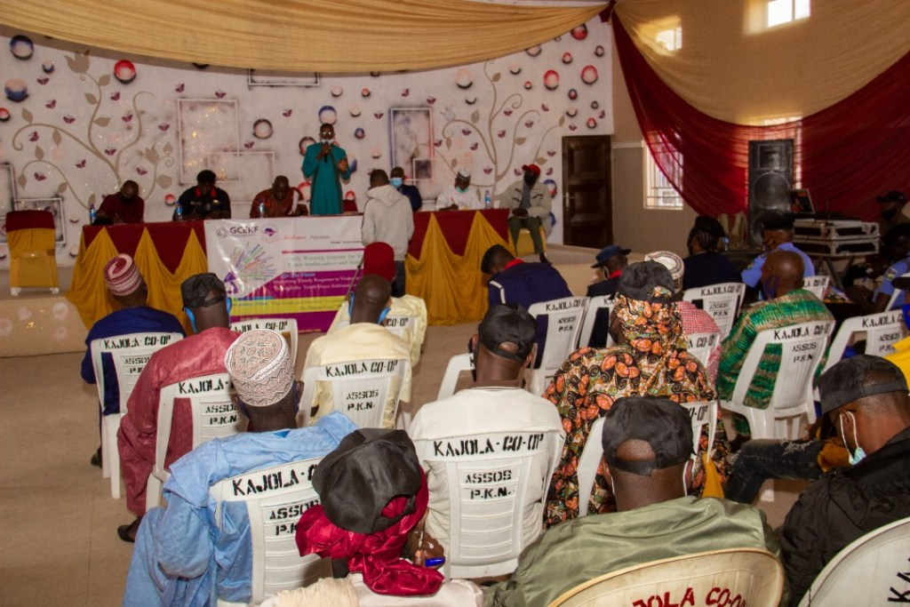 IGSR Organises Early Warning Seminar for 250 Youth Peace Ambassadors and Community Members in Plateau Central Senatorial Zone 5