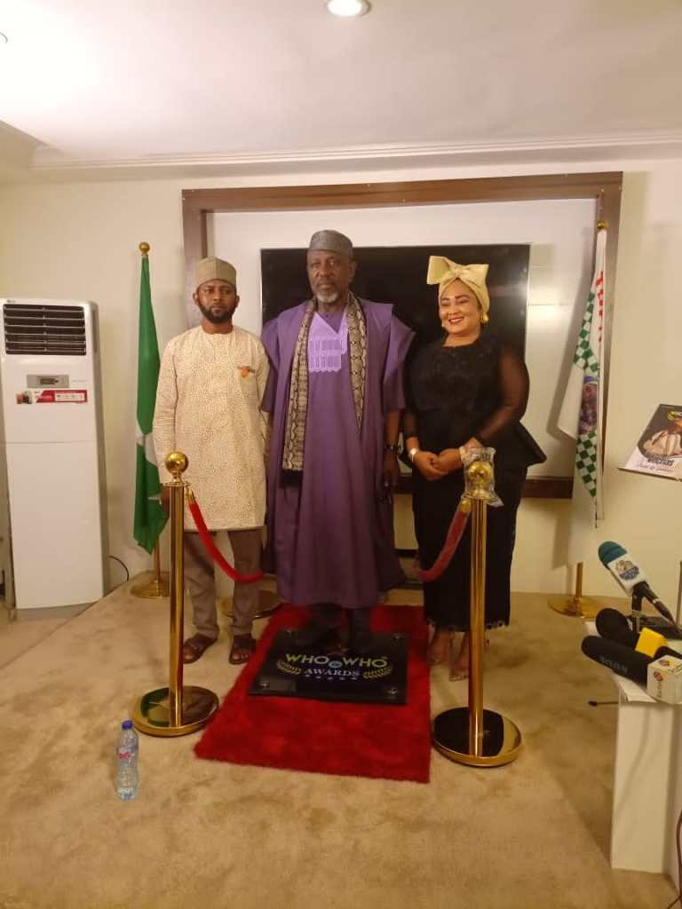 Sen Rochas Okorocha receives Nigeria's most expensive award Who Is Who Stand Of Fame 4