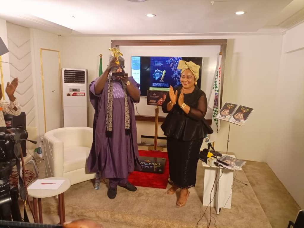 Sen Rochas Okorocha receives Nigeria's most expensive award Who Is Who Stand Of Fame