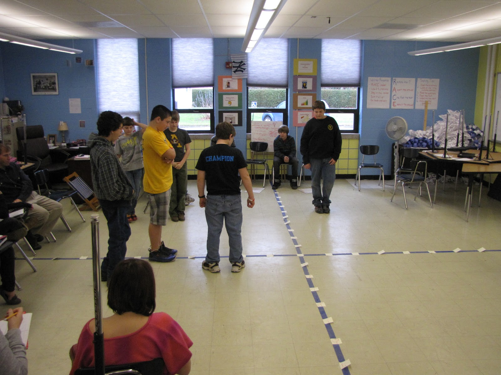 Human Sized Coordinate Graph Game