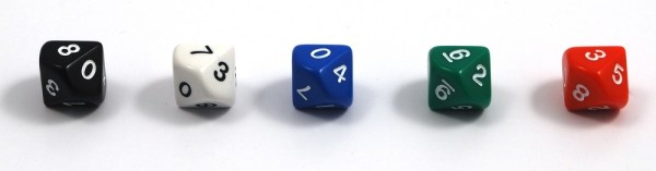 5-10 Sided Dice