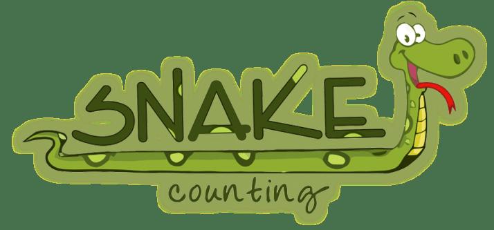 snake counting logo