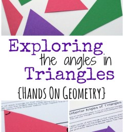 Understanding Interior and Exterior Angles in Triangles [ 1451 x 800 Pixel ]