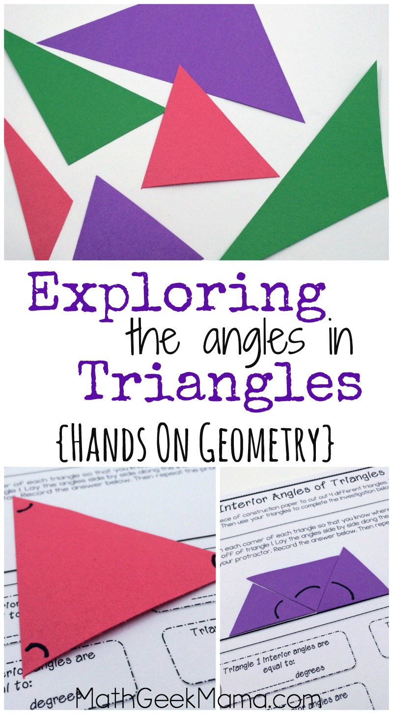 hight resolution of Understanding Interior and Exterior Angles in Triangles