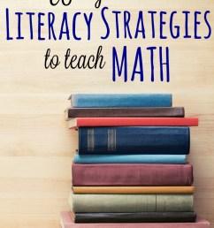 Using Literacy Strategies to Teach Math [ 1229 x 800 Pixel ]