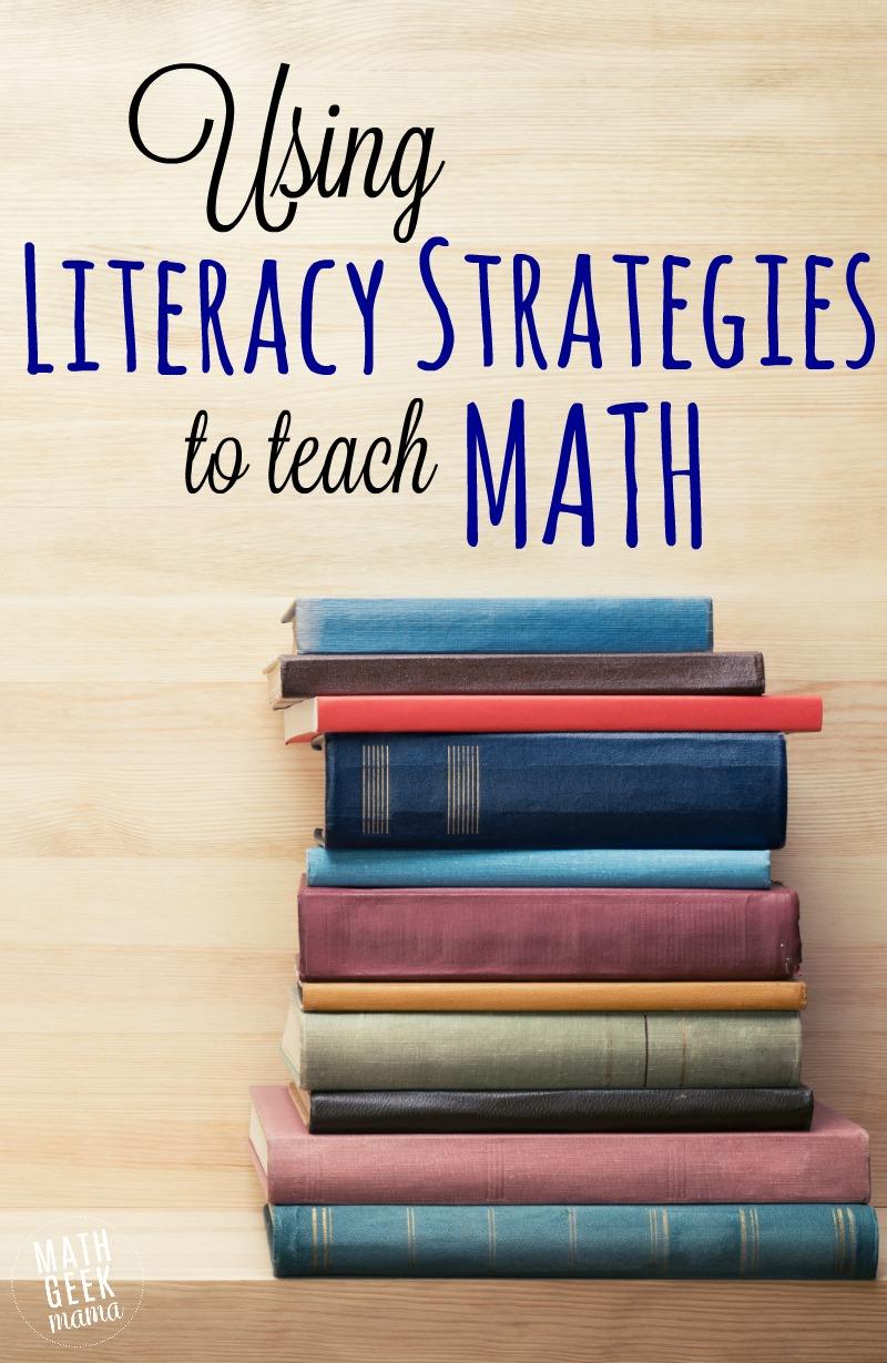 medium resolution of Using Literacy Strategies to Teach Math
