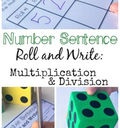 Simple and Low Prep Multiplication and Division Game {FREE} [ 1628 x 800 Pixel ]