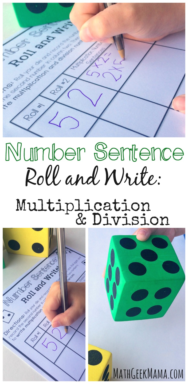 hight resolution of Simple and Low Prep Multiplication and Division Game {FREE}