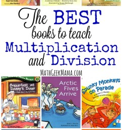 The Best Books to Teach Multiplication and Division [ 1489 x 800 Pixel ]