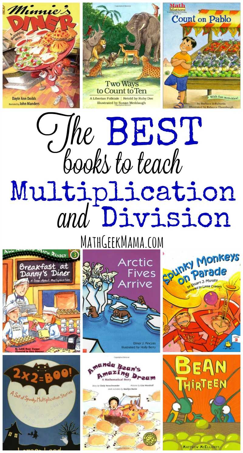 medium resolution of The Best Books to Teach Multiplication and Division