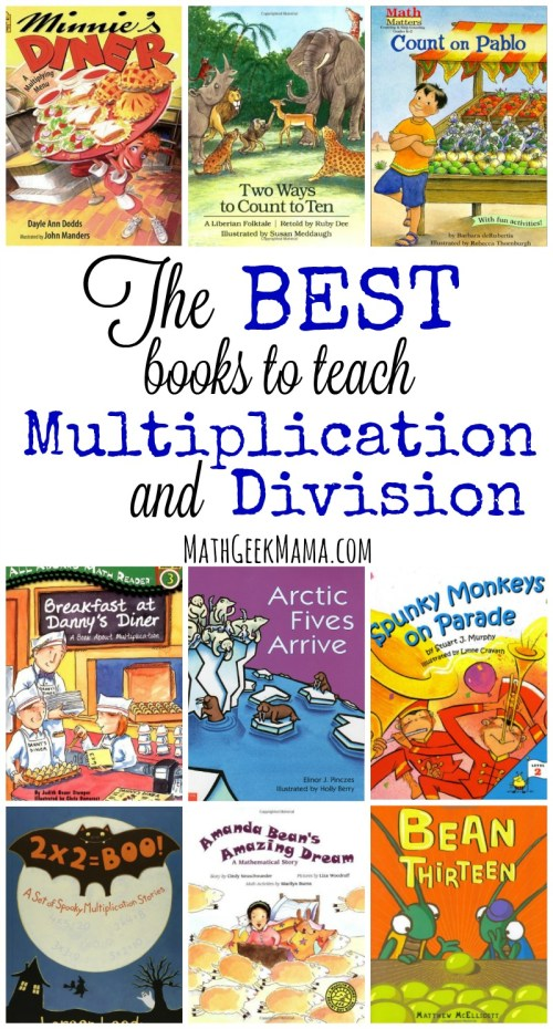 small resolution of The Best Books to Teach Multiplication and Division