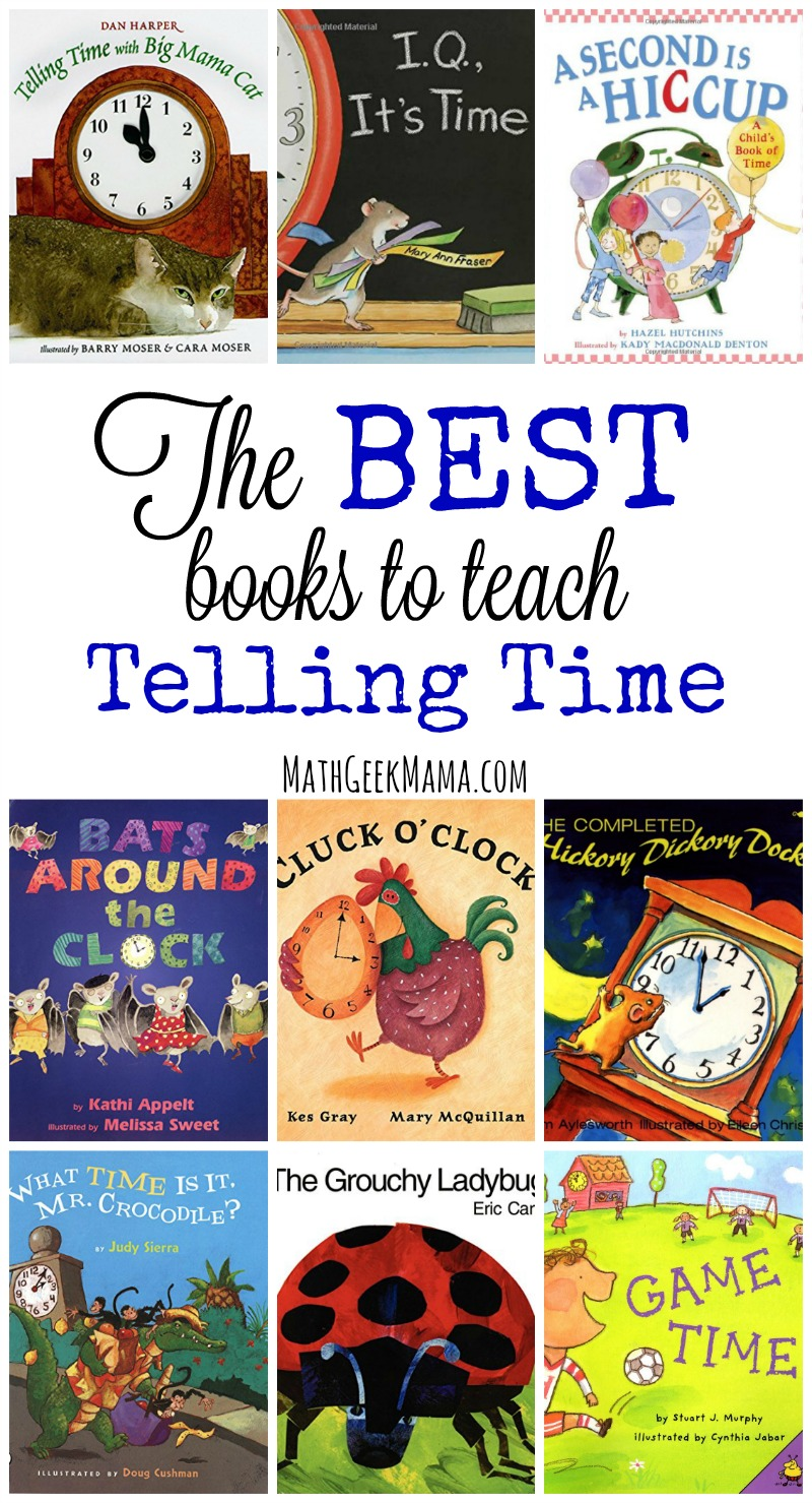 medium resolution of The Best Books to Teach Time Concepts