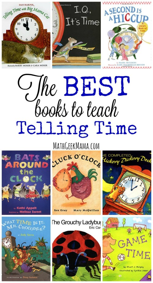 small resolution of The Best Books to Teach Time Concepts