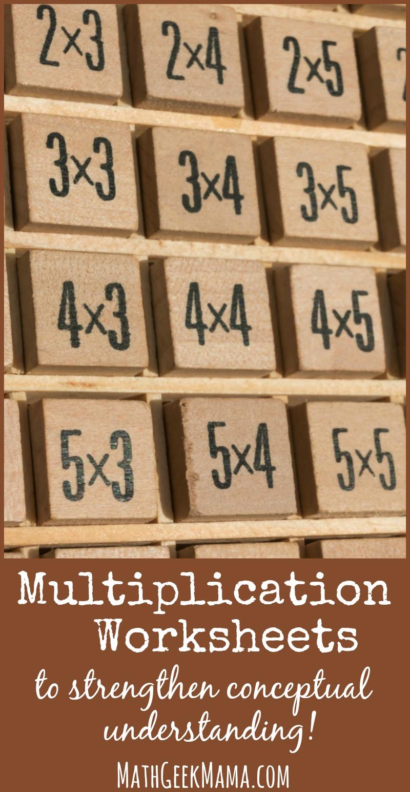 medium resolution of Fun Multiplication Worksheets that Build Conceptual Understanding