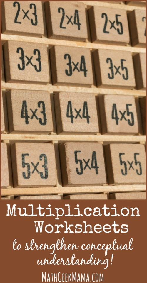 small resolution of Fun Multiplication Worksheets that Build Conceptual Understanding